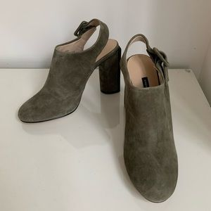 New French Connection Suede Booties